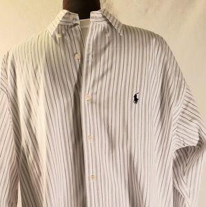 Ralph lauren long sleeve golf blake cotton shirt